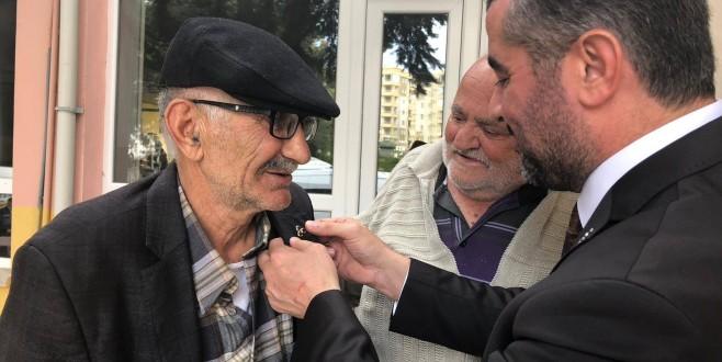 Avşar, Huzurevinde Yaşlılarla Biraraya Geldi
