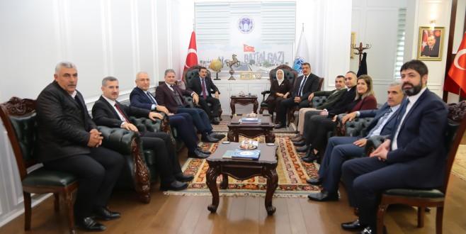 """Başkan Gürkan, """"Bize Duyulan Güvene Layık Olmaya Çalışacağız"""""""