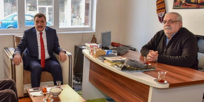 Başkan Gürkan, Malatya Ali Kapısı Derneği Yönetimi İle Bir Araya Geldi