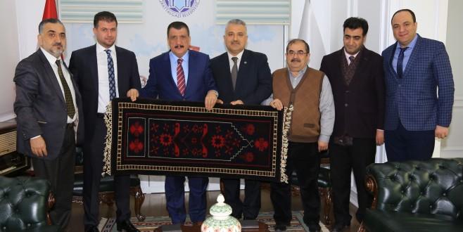 Başkan Gürkan, STKlarla Biraraya Gelmeye Devam Ediyor