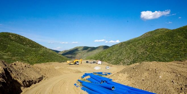 Gertan'daki Çalışmayla Birçok Mahalleye Su Temin Edecek