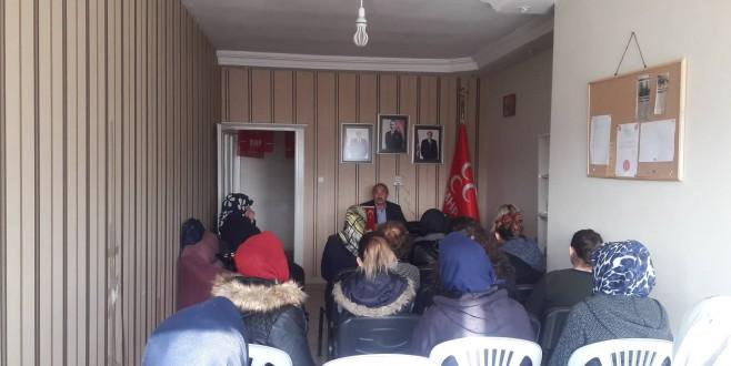 MHP Kadın Kolları'ndan Hz.Ali'nin şehadeti ile ilgili seminer