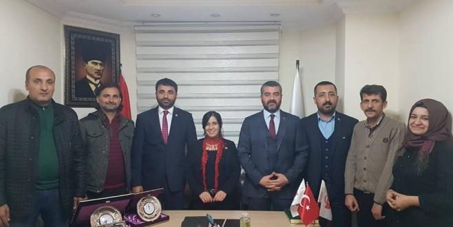 MHP  Malatya İl Yönetiminden TYGD'ye  Ziyaret