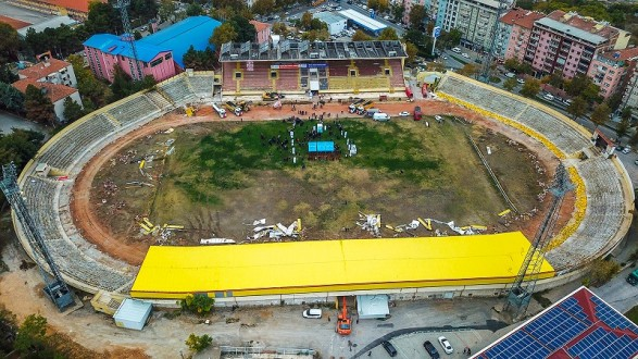 Milletin Stadyumu Millet Bahçesine Dönüşüyor