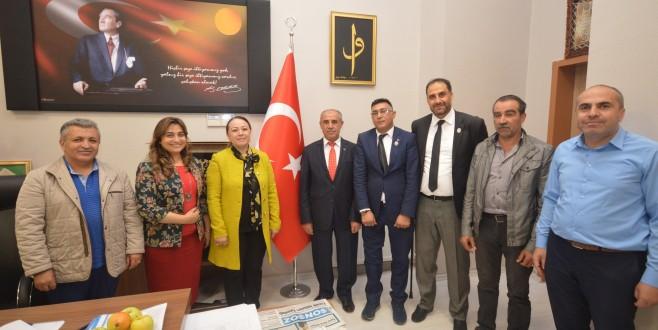 Şehit aileleri ve gazilerden Rektör Prof. Dr. Karabulut'a ziyare