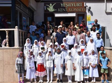 Yaz Kur'an Kursu İçin Yılsonu Kapanış Programı Düzenlendi.