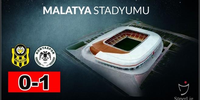 Yeni Malatyaspor Evinde Mağlup- 0-1